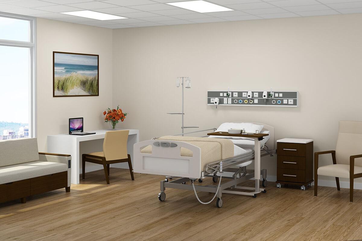 Patient Rooms – Medical